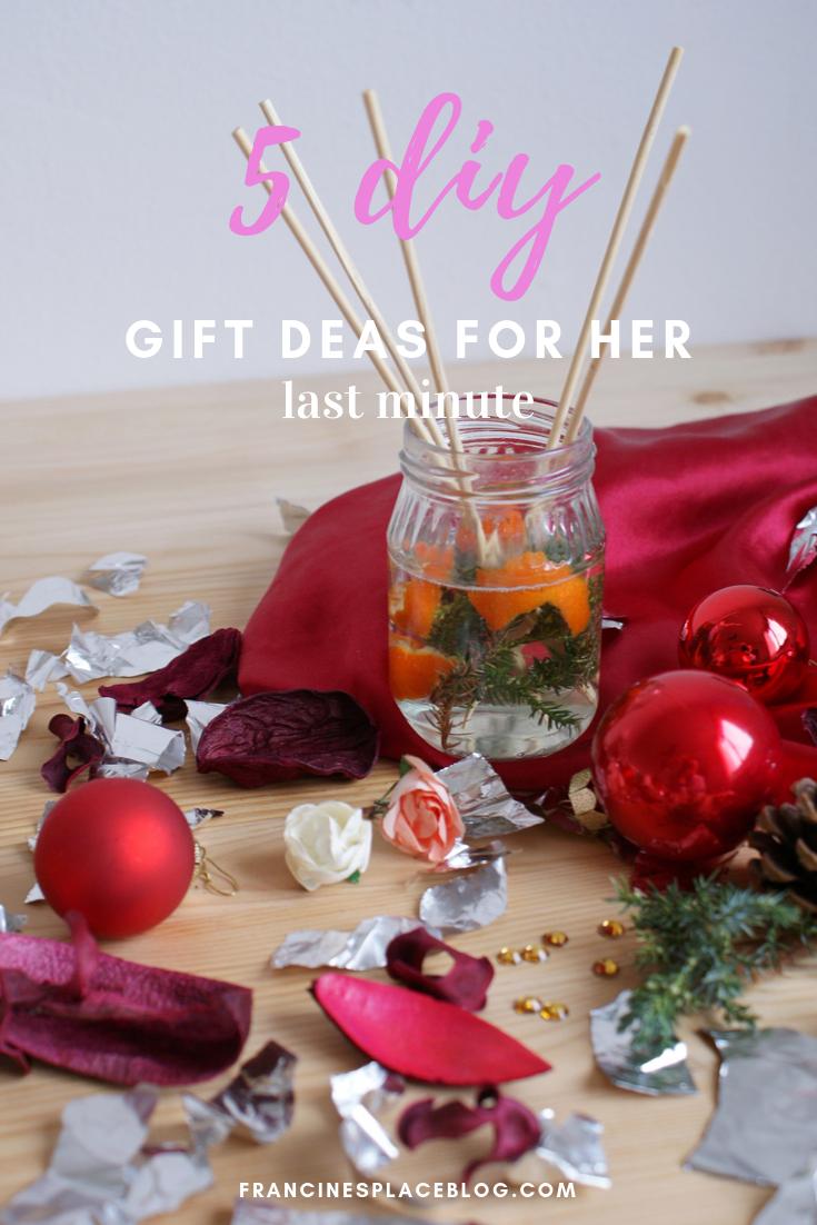 diy gifts idea christmas last minute her women budget francinesplaceblog