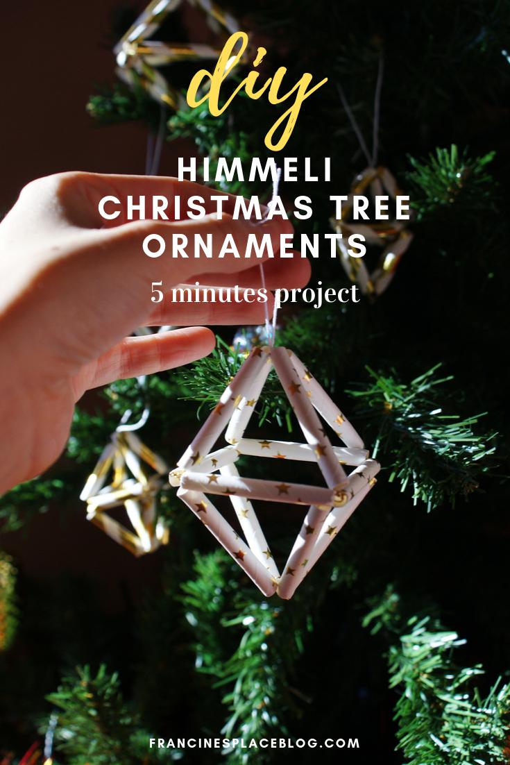 diy minimalist himmeli christmas tree ornaments francinesplaceblog