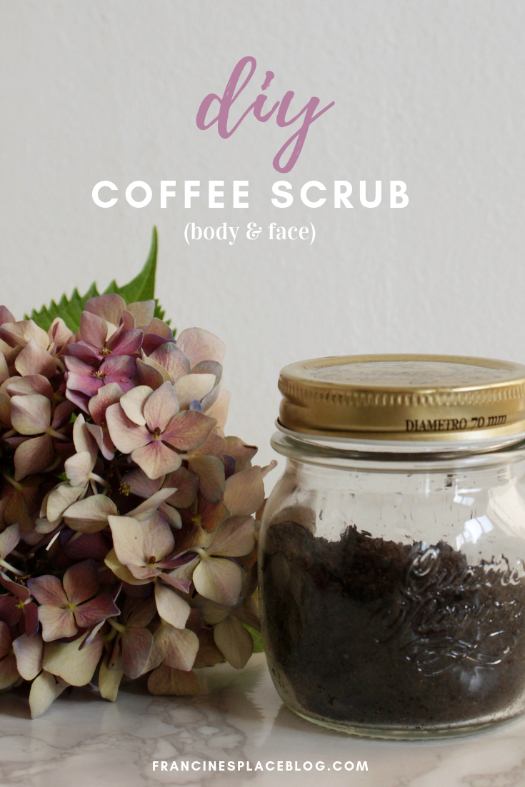 diy face body coffe scrub cellulite purifying slim francinesplaceblog