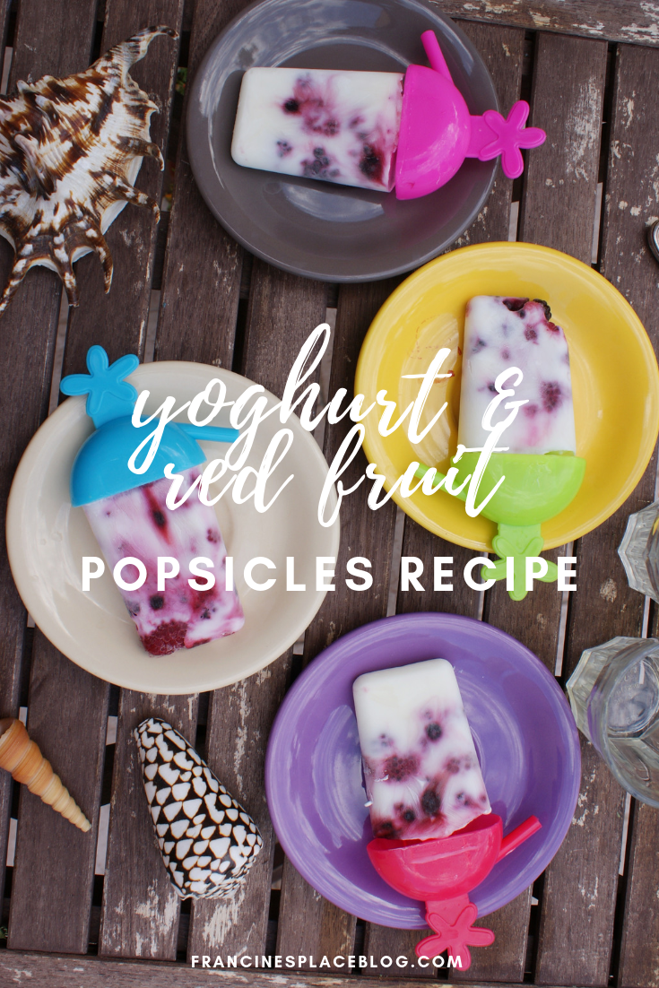 yoghurt yogurt red fruit popsicles recipe easy idea summer gelato icecream francinesplaceblog