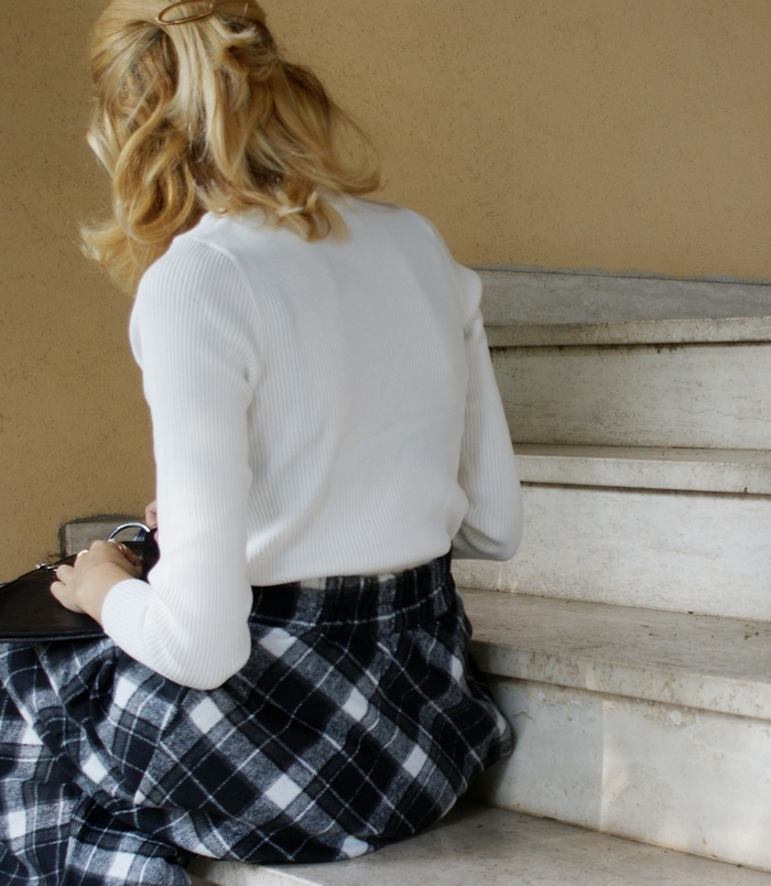 tartan outfit autunno inverno 2017