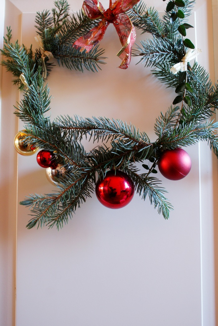 diy christmas wreath home francinesplaceblog