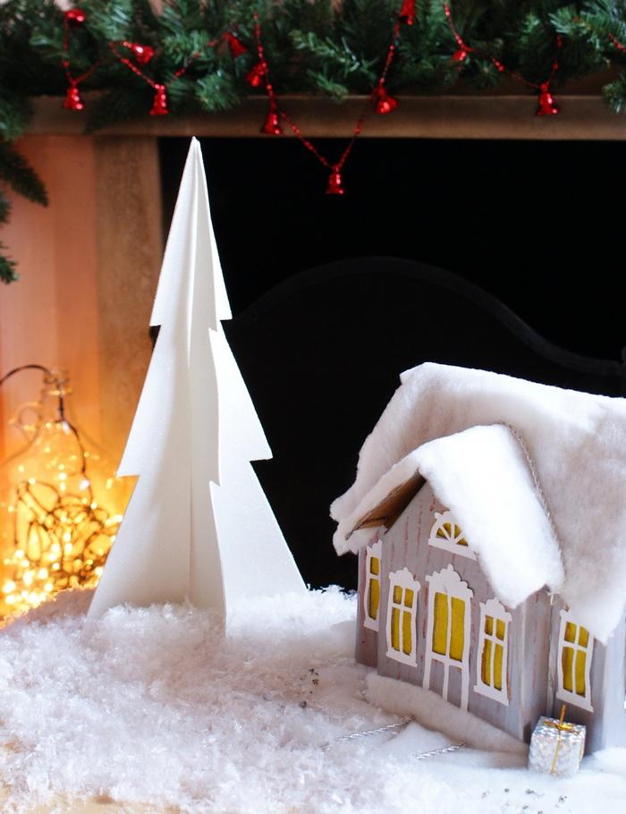 diy minimal 3d christmas tree francinesplaceblog