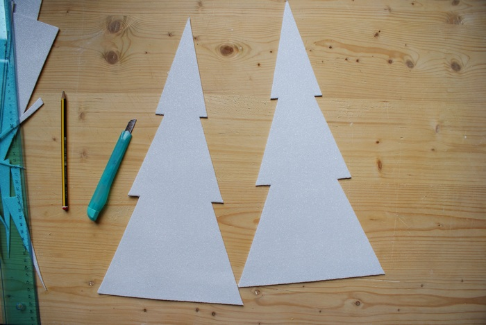 graphic 3d christmas tree diy