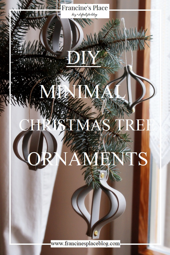 diy minimal christmas decorations francinesplaceblog