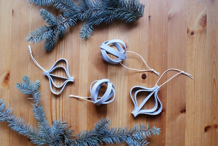 decorazioni albero natale minimal faidate