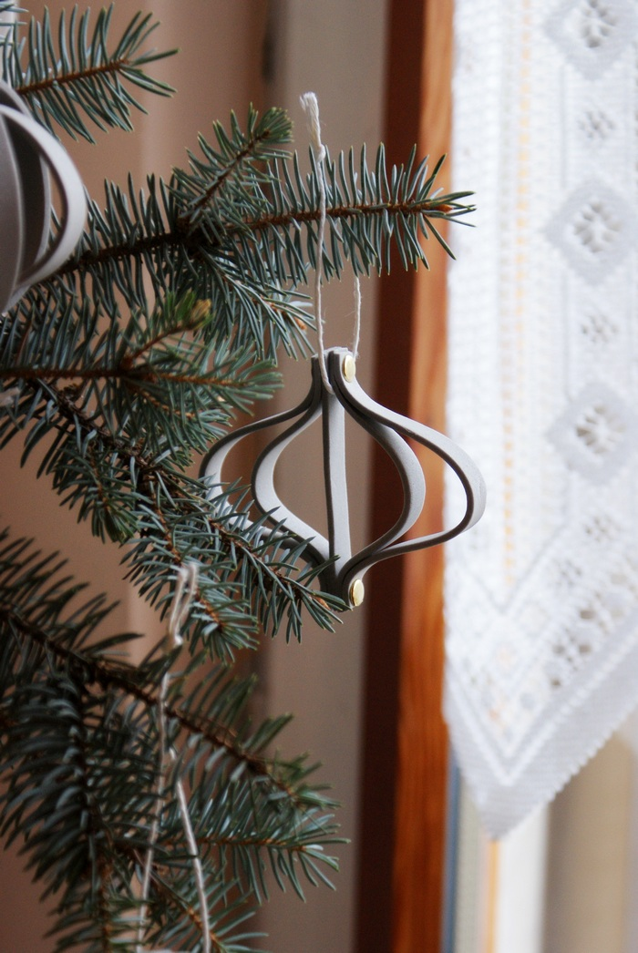 diy minimal scandinavian ornament decoration