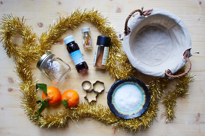 diy scented bath salts christmas