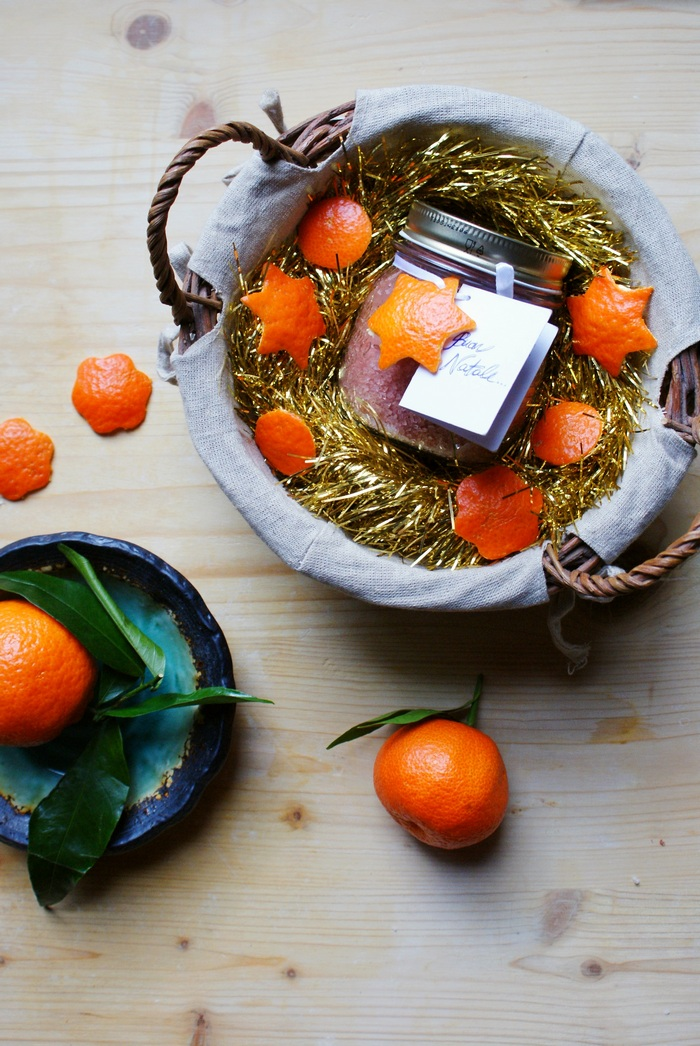 BEAUTY GIFT IDEA: DIY ORANGE AND CINNAMON SCENTED BATH SALTS