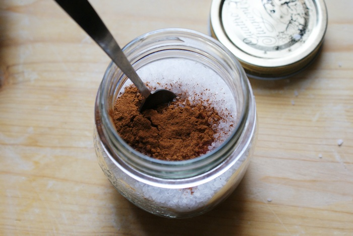 cinnamon bath salts diy christmas