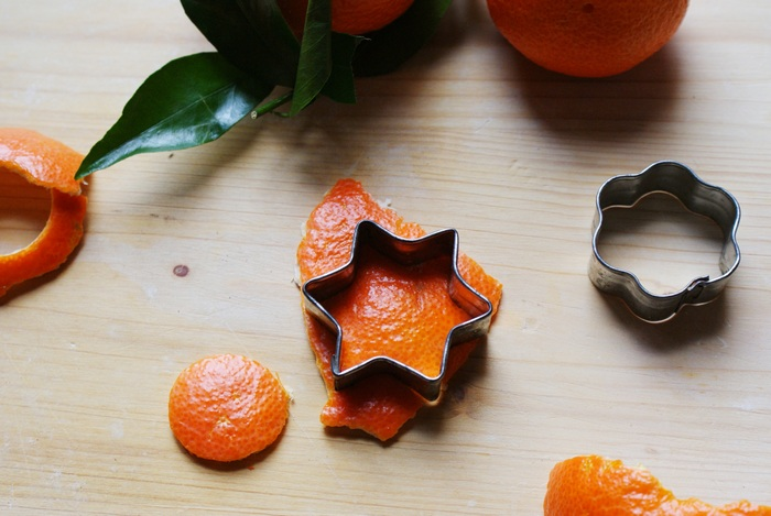 orange peel christmas ornaments diy