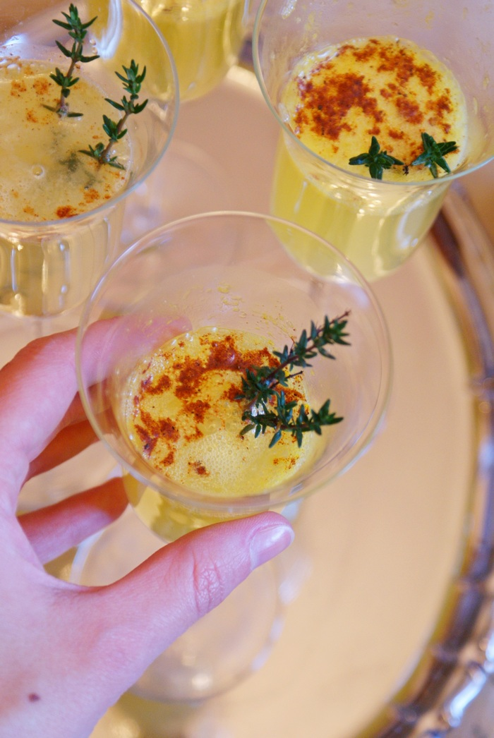 christmas prosecco cocktail recipe holiday