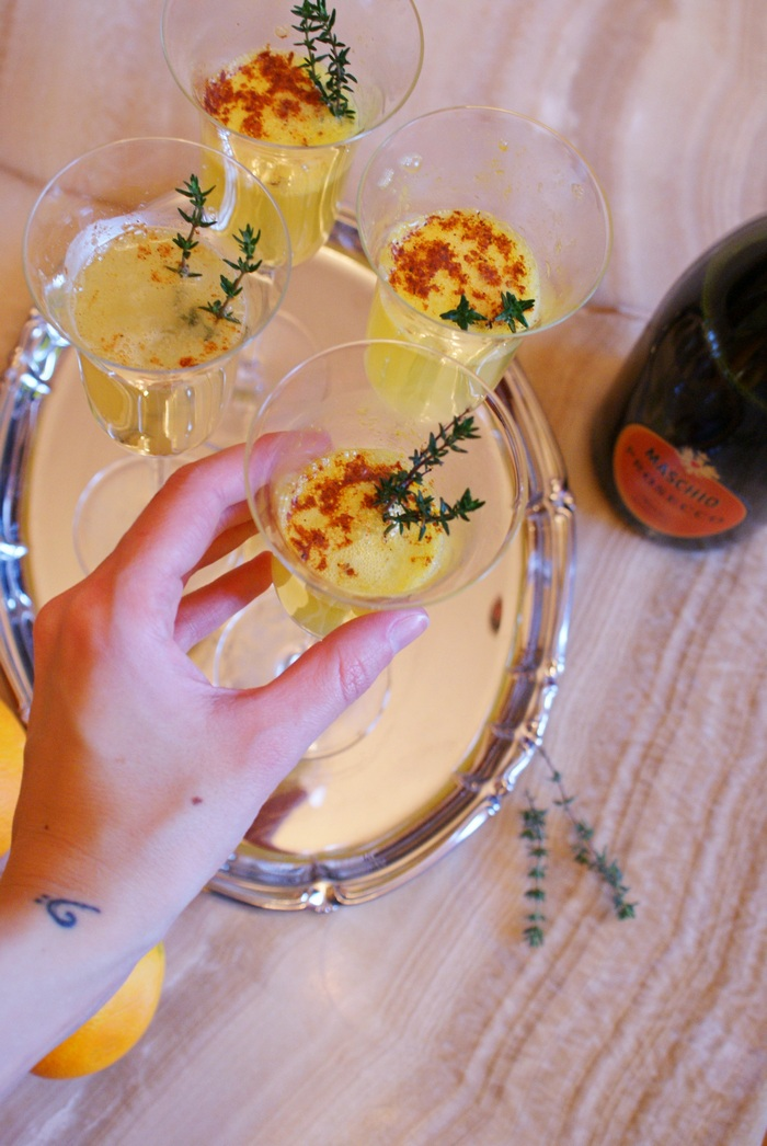 prosecco cocktail francinesplaceblog #fpblogxmas recipe