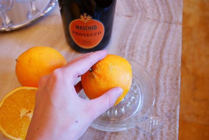 prosecco arancia cantine maschio ricetta