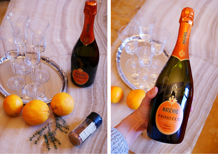 orange prosecco cocktail recipe diy