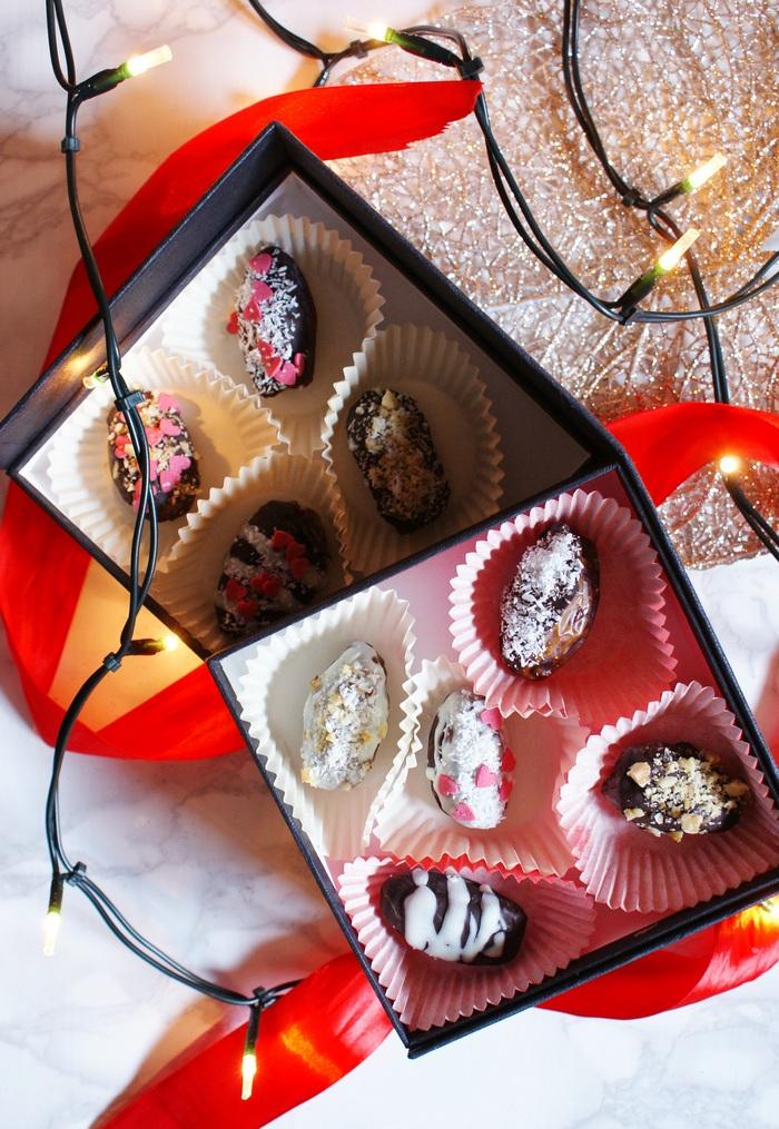 chocolate date pralines recipe francinesplaceblog