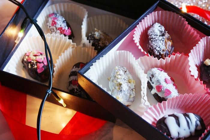 ricetta facile praline cioccolato datteri