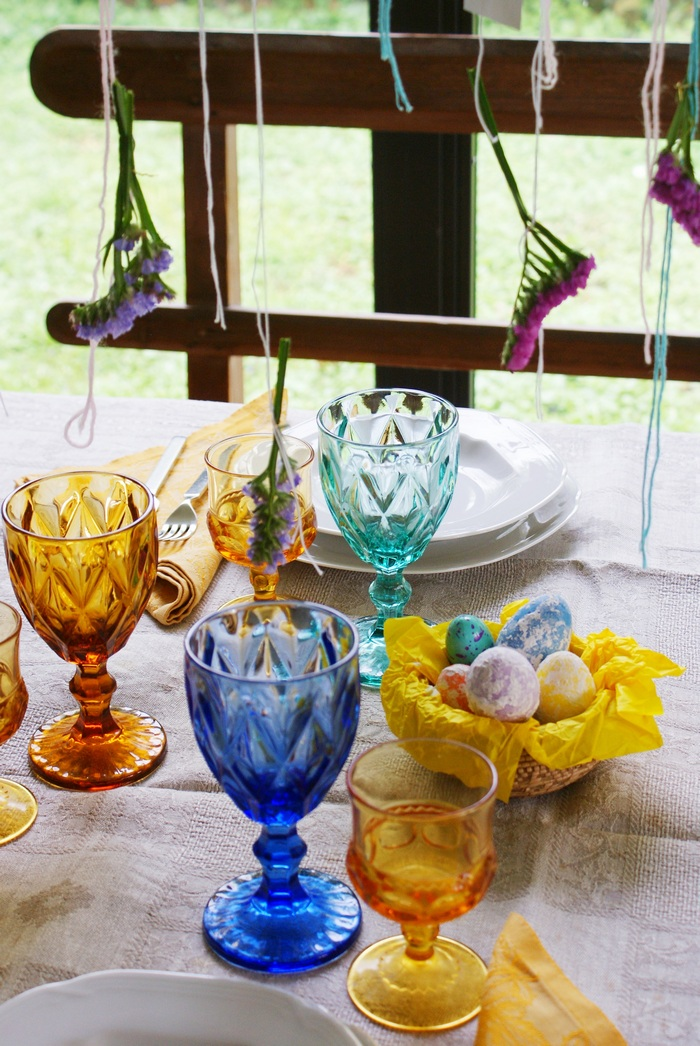 easter table decor beautiful spring