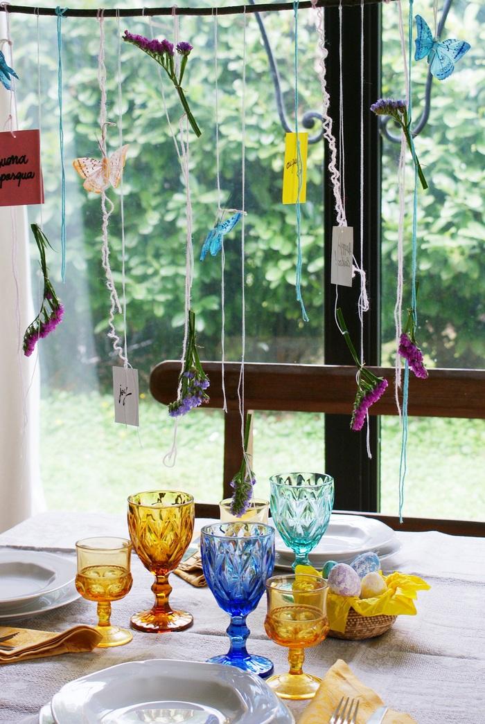 decorazioni pasqua tavola casa idee