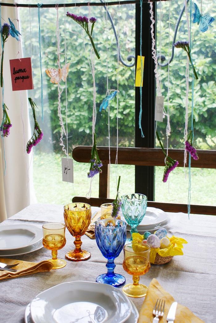diy garland easter table francinesplaceblog