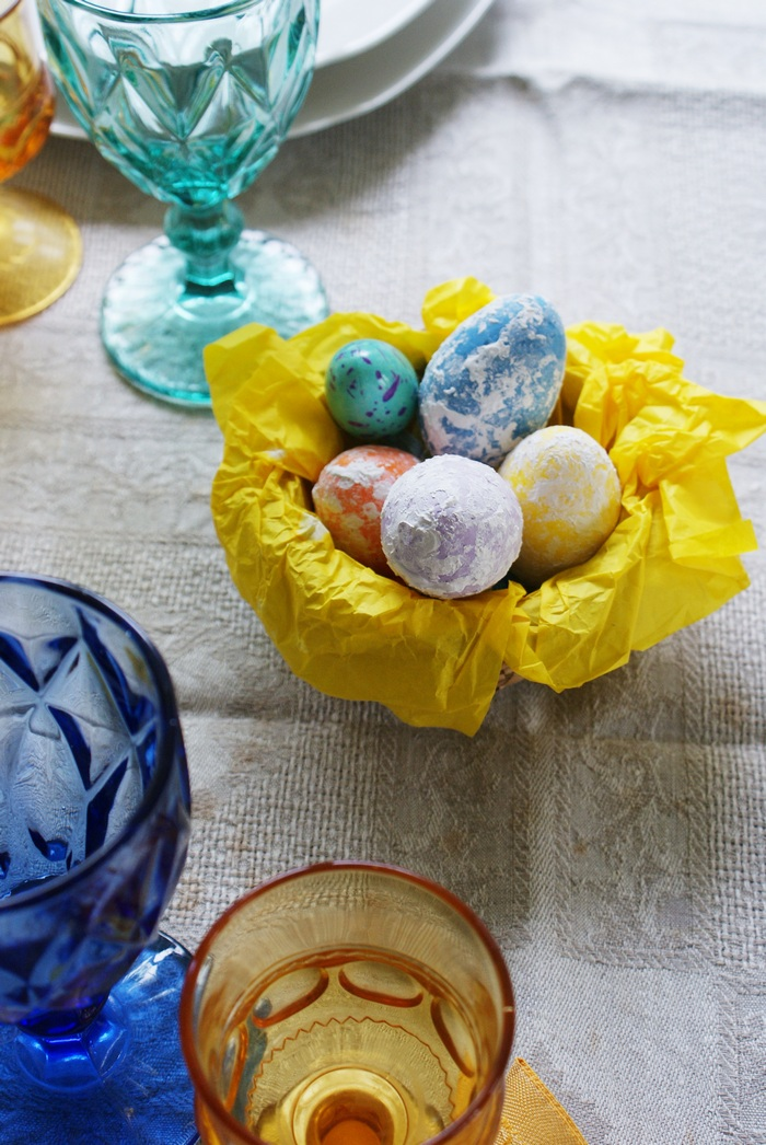 easter table diy decor ideas