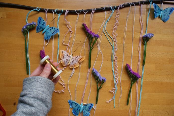 diy garland easter spring francinesplaceblog