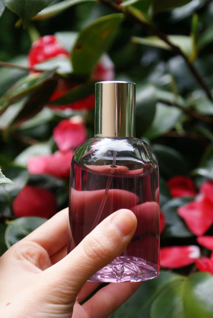 diy camelia face hair mist