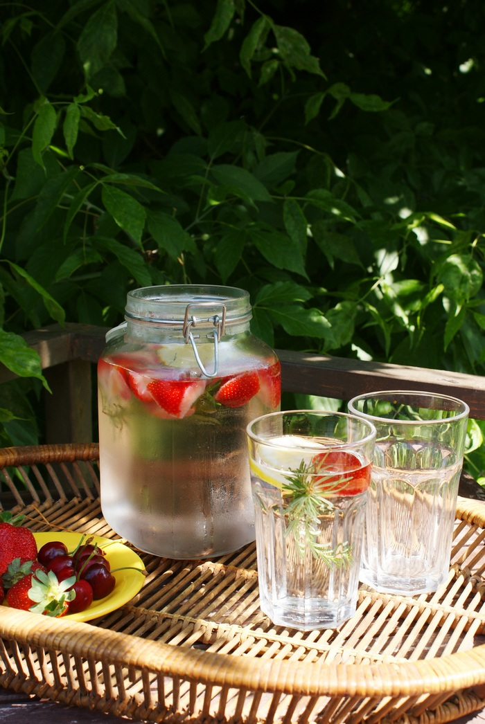 fruity detox water recipe francinesplaceblog