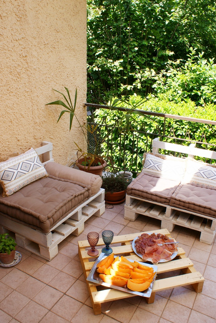 diy pallet outdoor lounge furniture