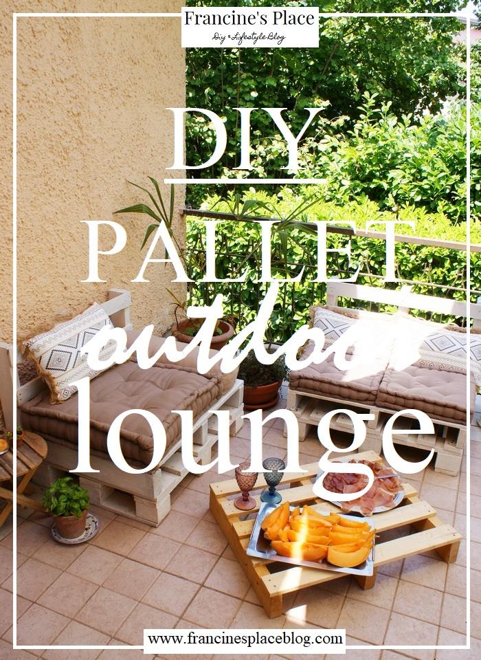 diy pallet outdoor lounge francinesplaceblog