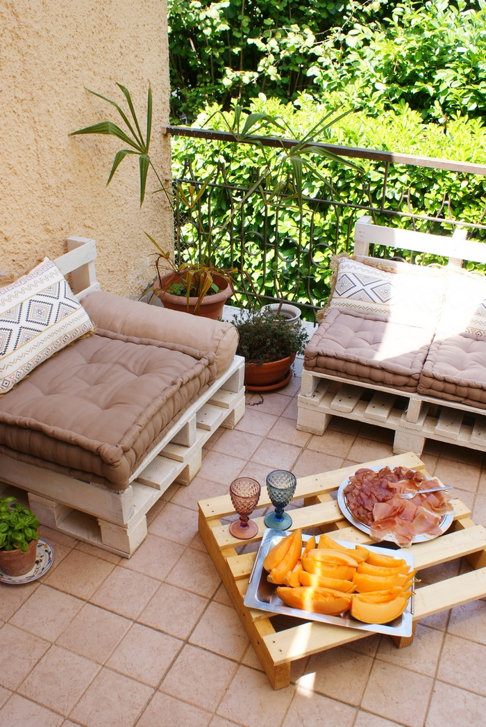 diy pallet lounge outdoor furniture