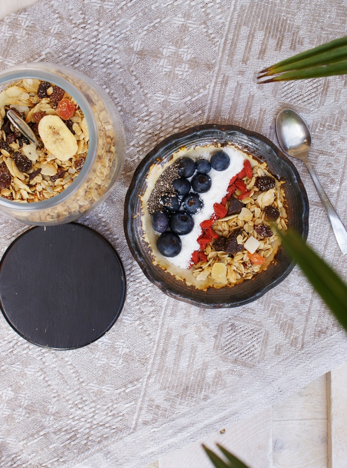 granola fruit chocolate recipe francinesplaceblog microwave