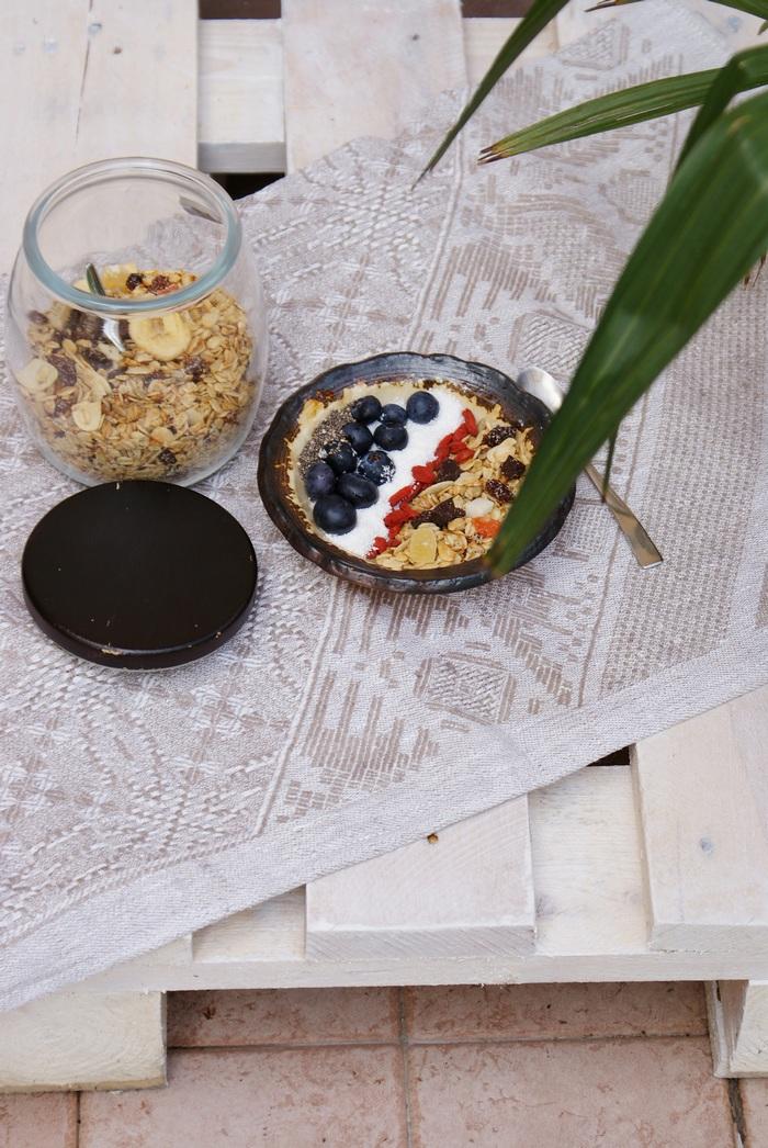 ricetta granola muesli microonde facile