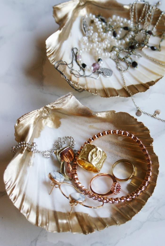 shell diy idea decor dish