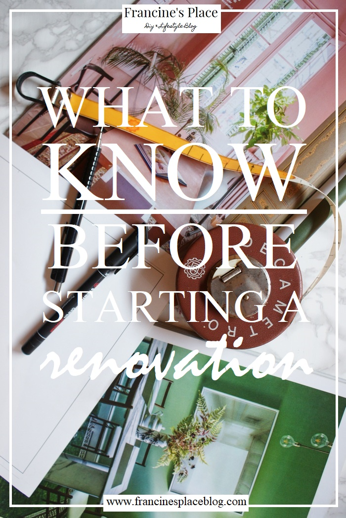 renovation plan guide howto francinesplaceblog