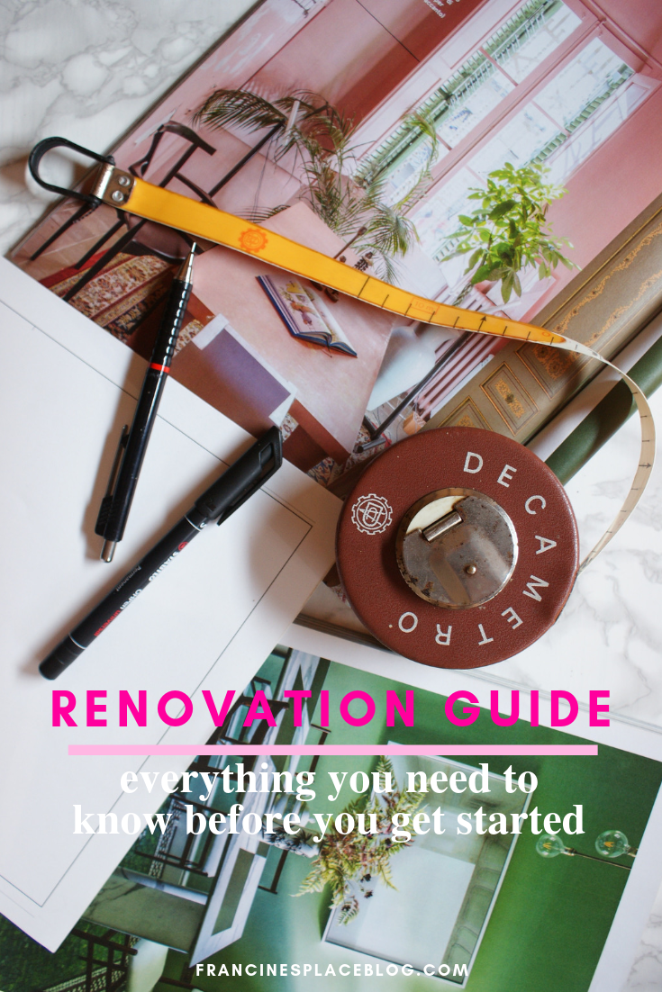 renovation guide know before start home design tips hacks budget survival francinesplaceblog ultimate