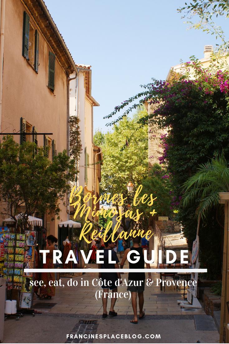 bormes mimosas travel guide see do eat tips france cote azur francinesplaceblog