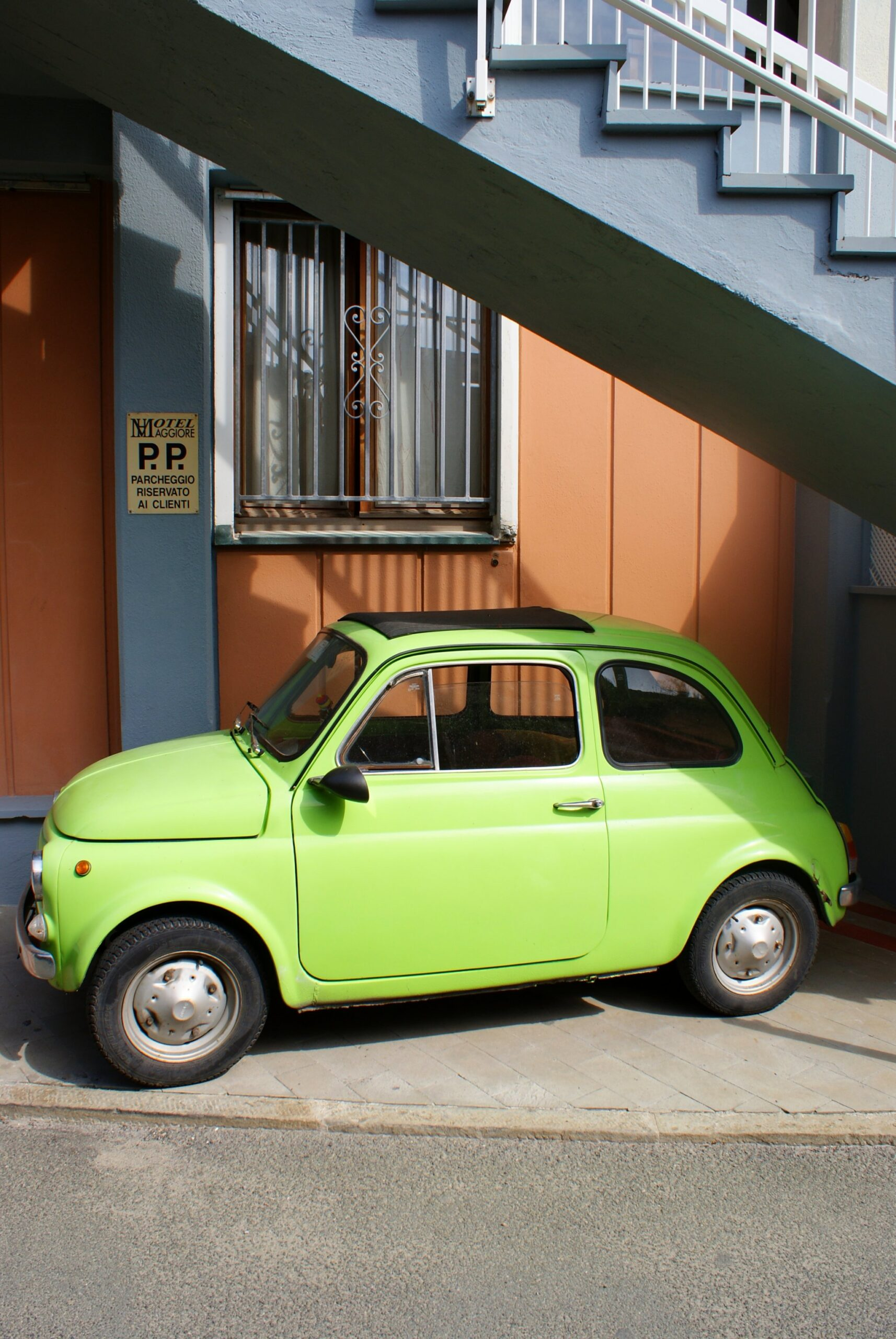 italian 500 vintage photo