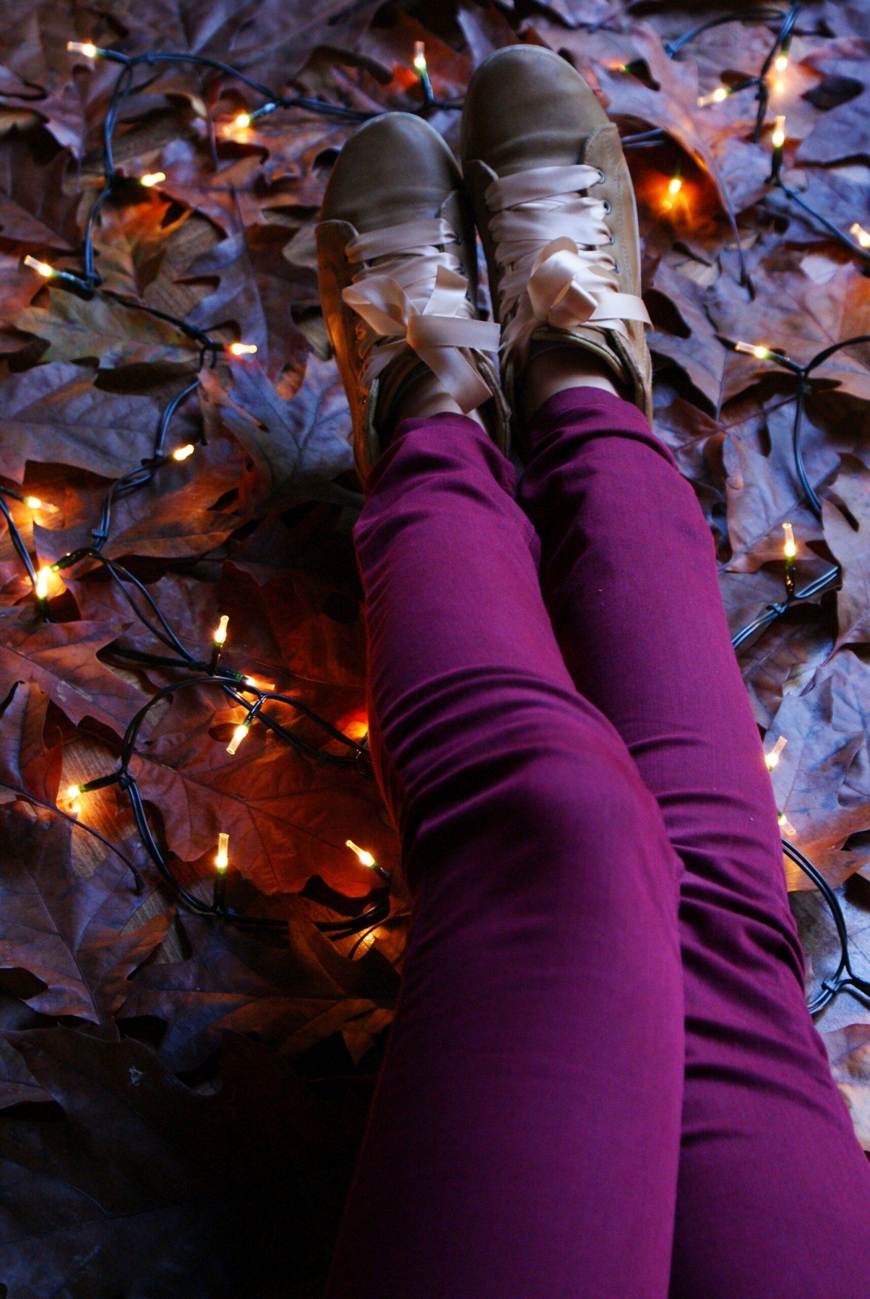diy lace up ribbon shoes