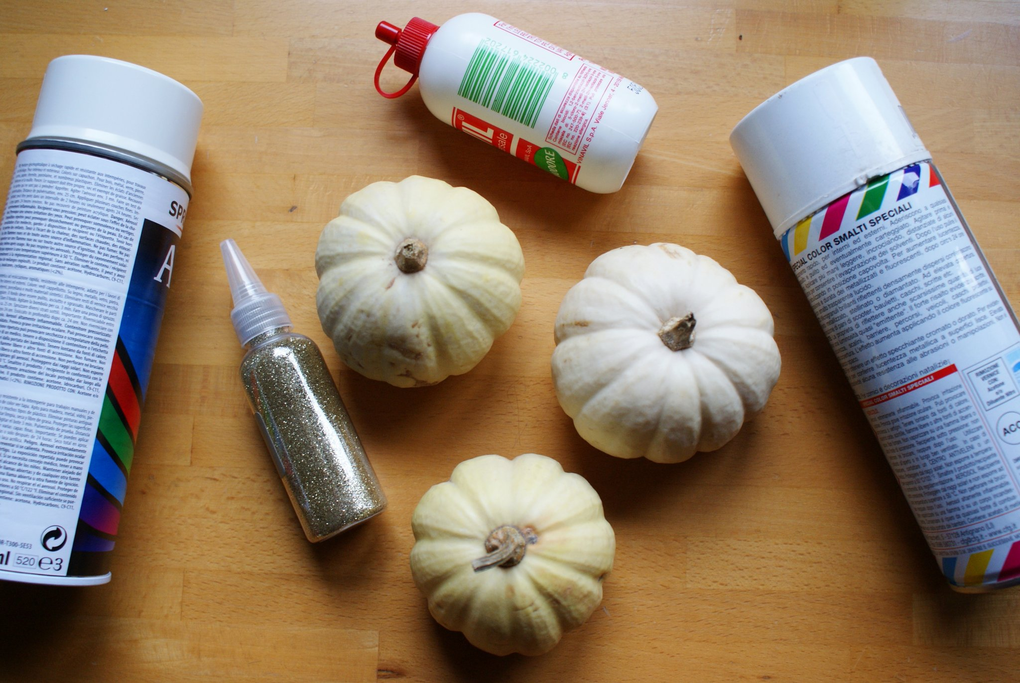 diy painted idea halloween pumpkins