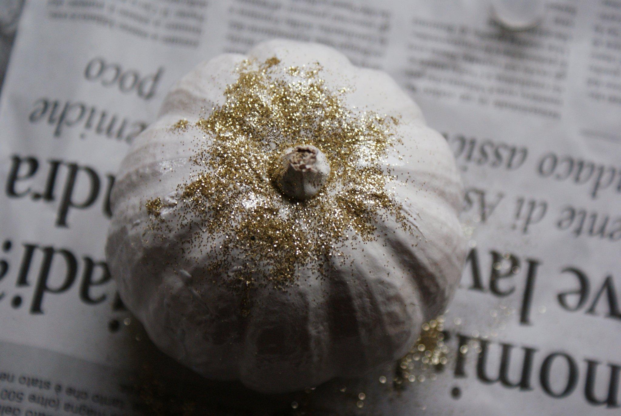 zucca halloween glitter oro faidate