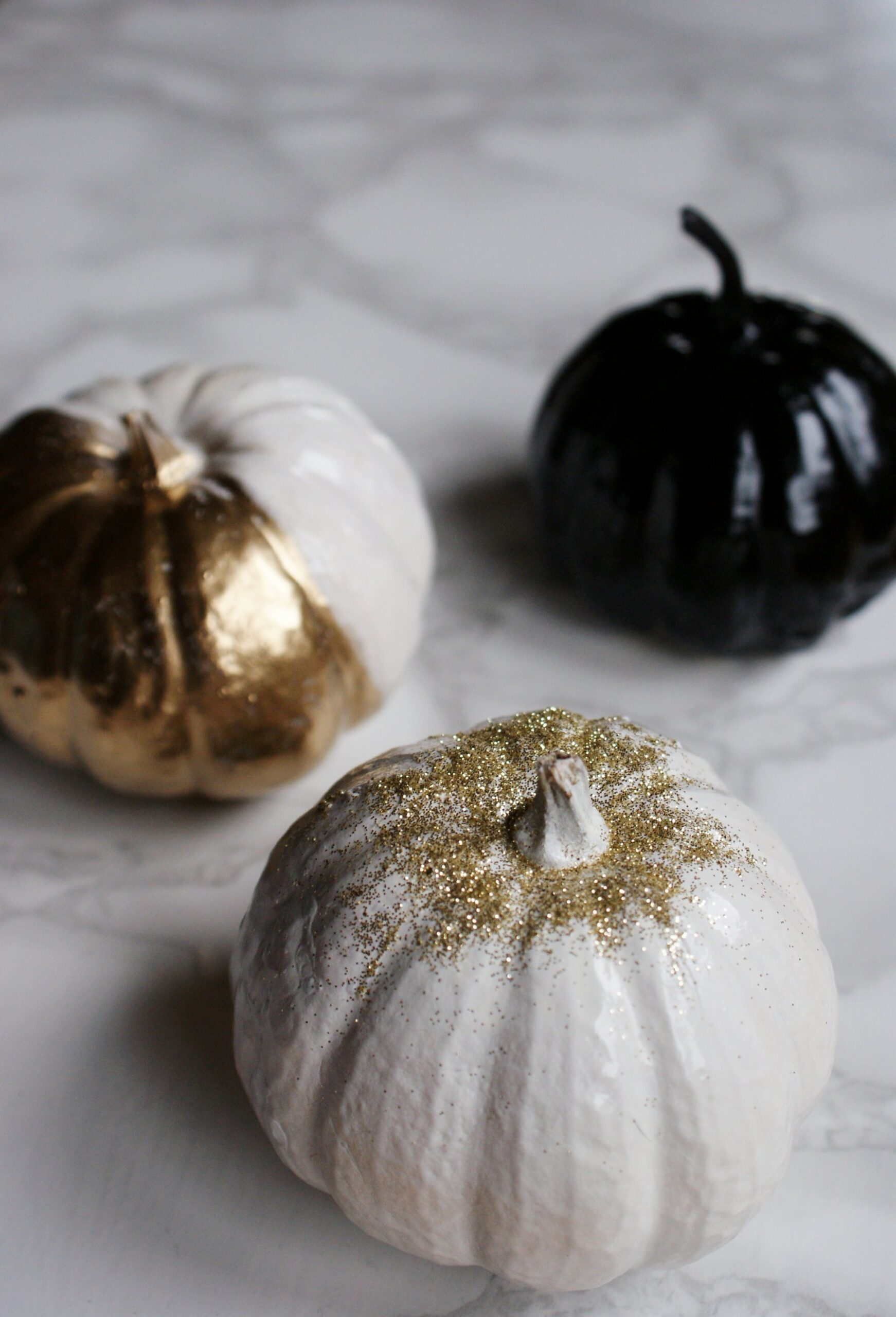 diy luxury painted halloween pumpkins