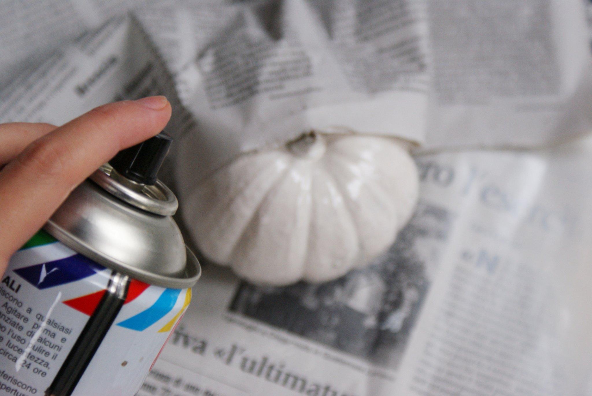 zucche dipinte halloween faidate idea