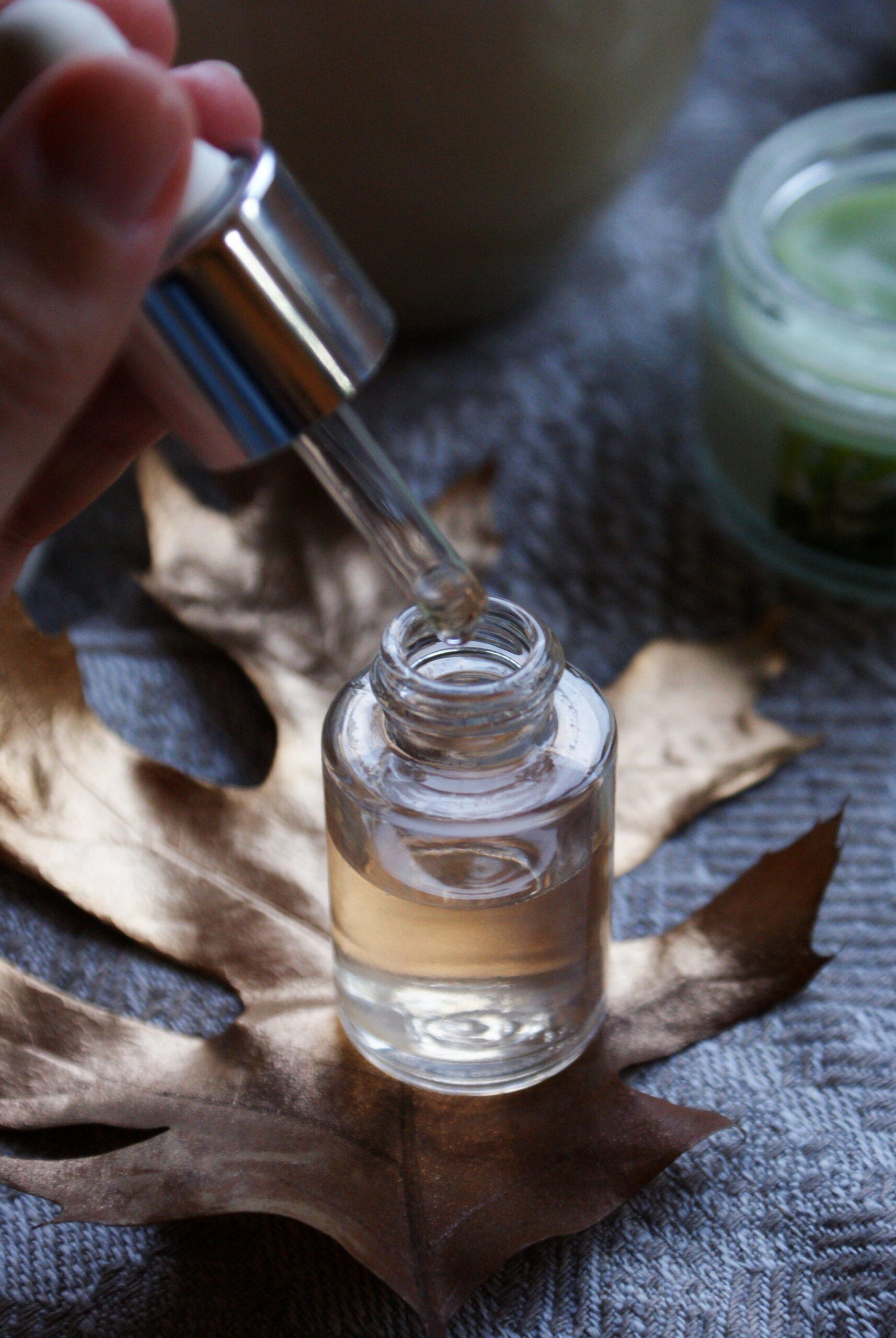 retinol serum fall tip beauty