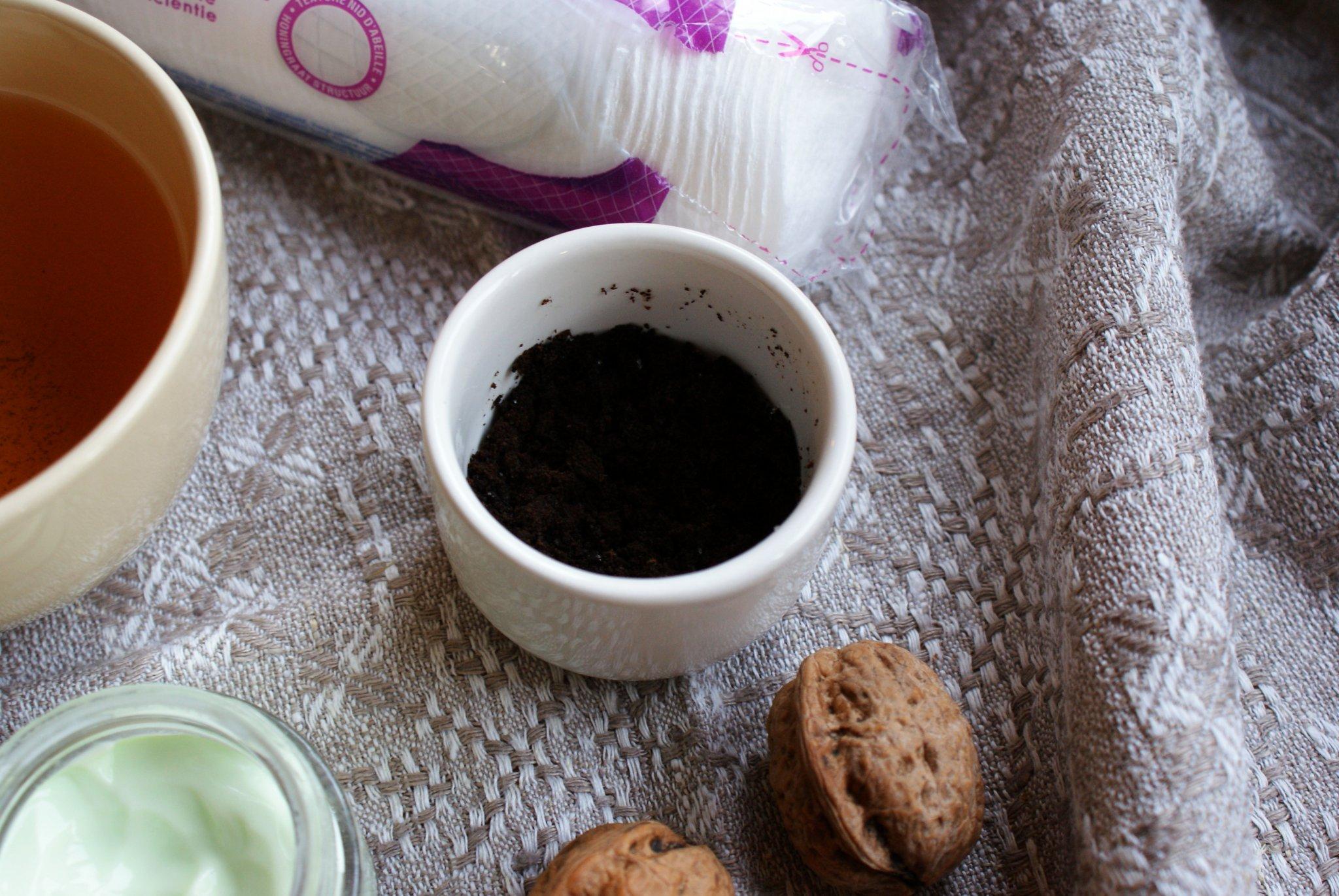 fall diy scrub coffee recipe