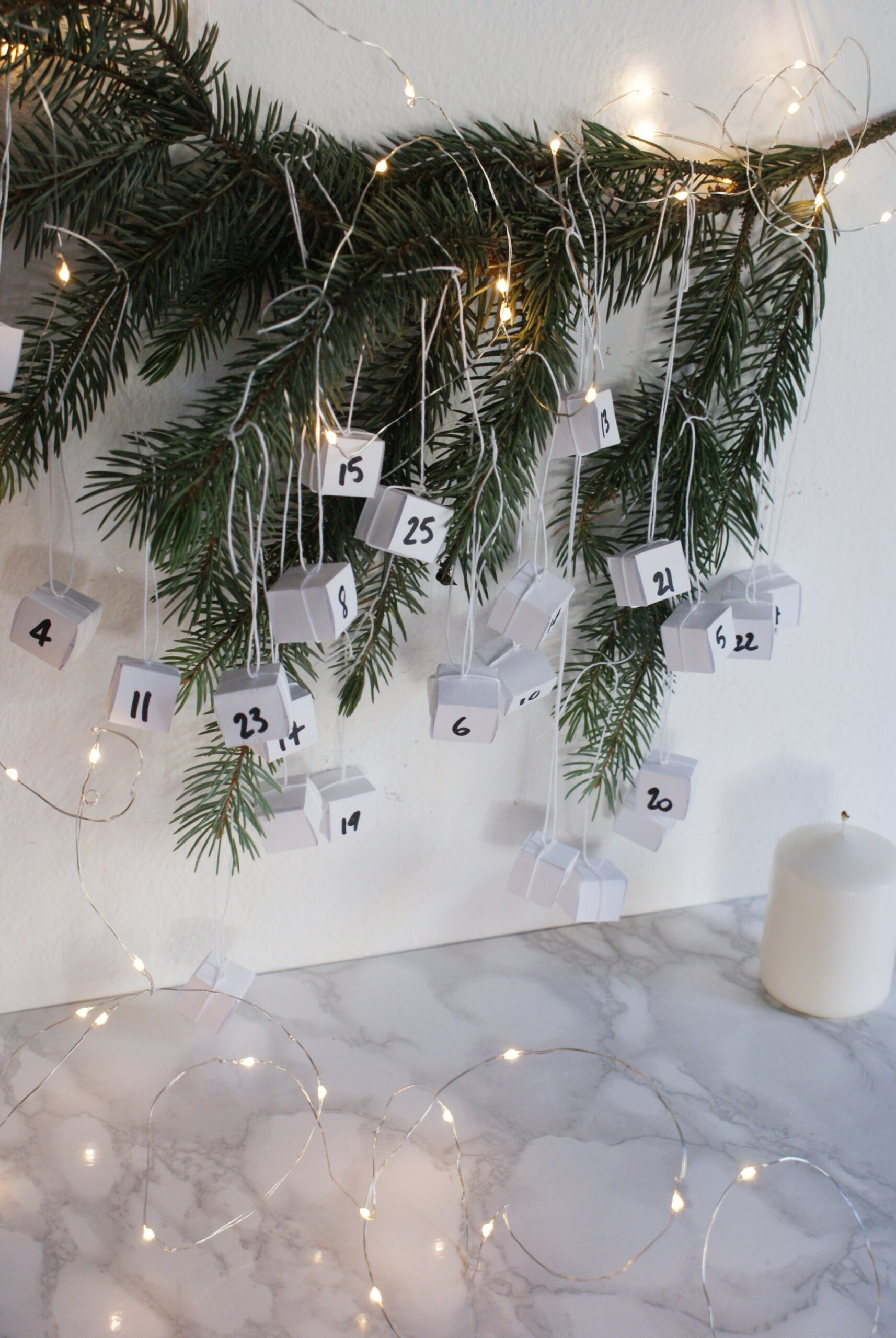diy scandinavian hanging advent calendar francinesplaceblog