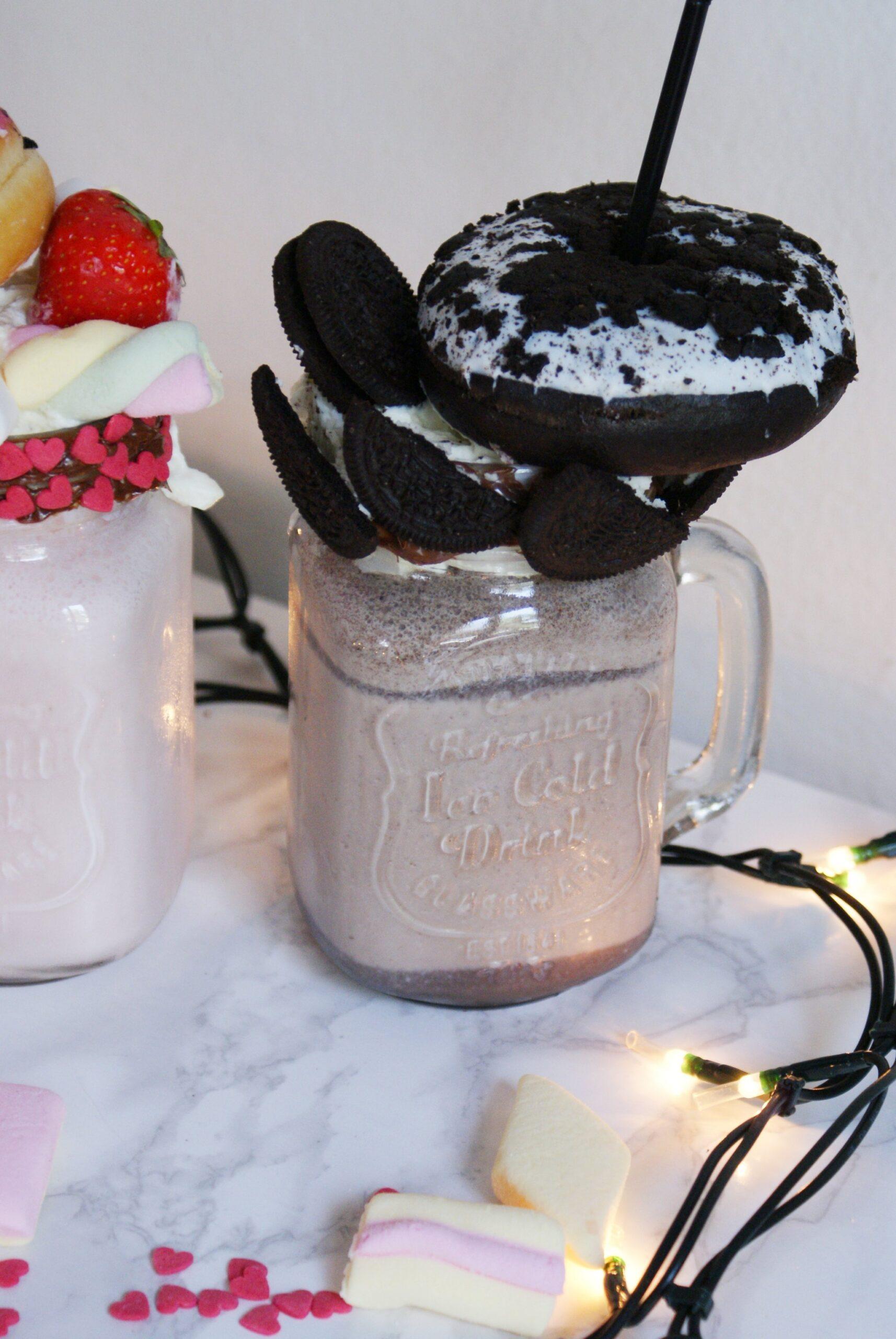 frappe oreo nutella ricetta milkshake