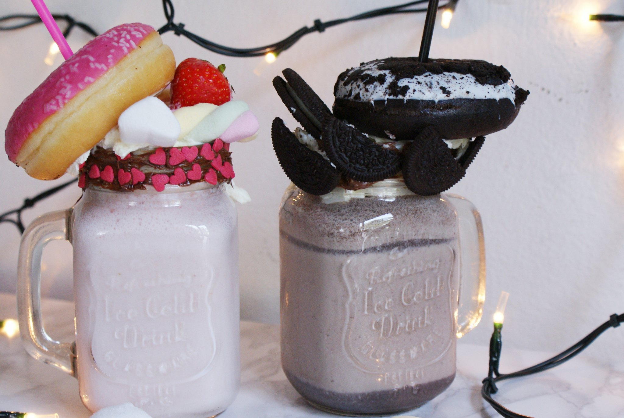 doughnut shake marshmallow oreo recipe
