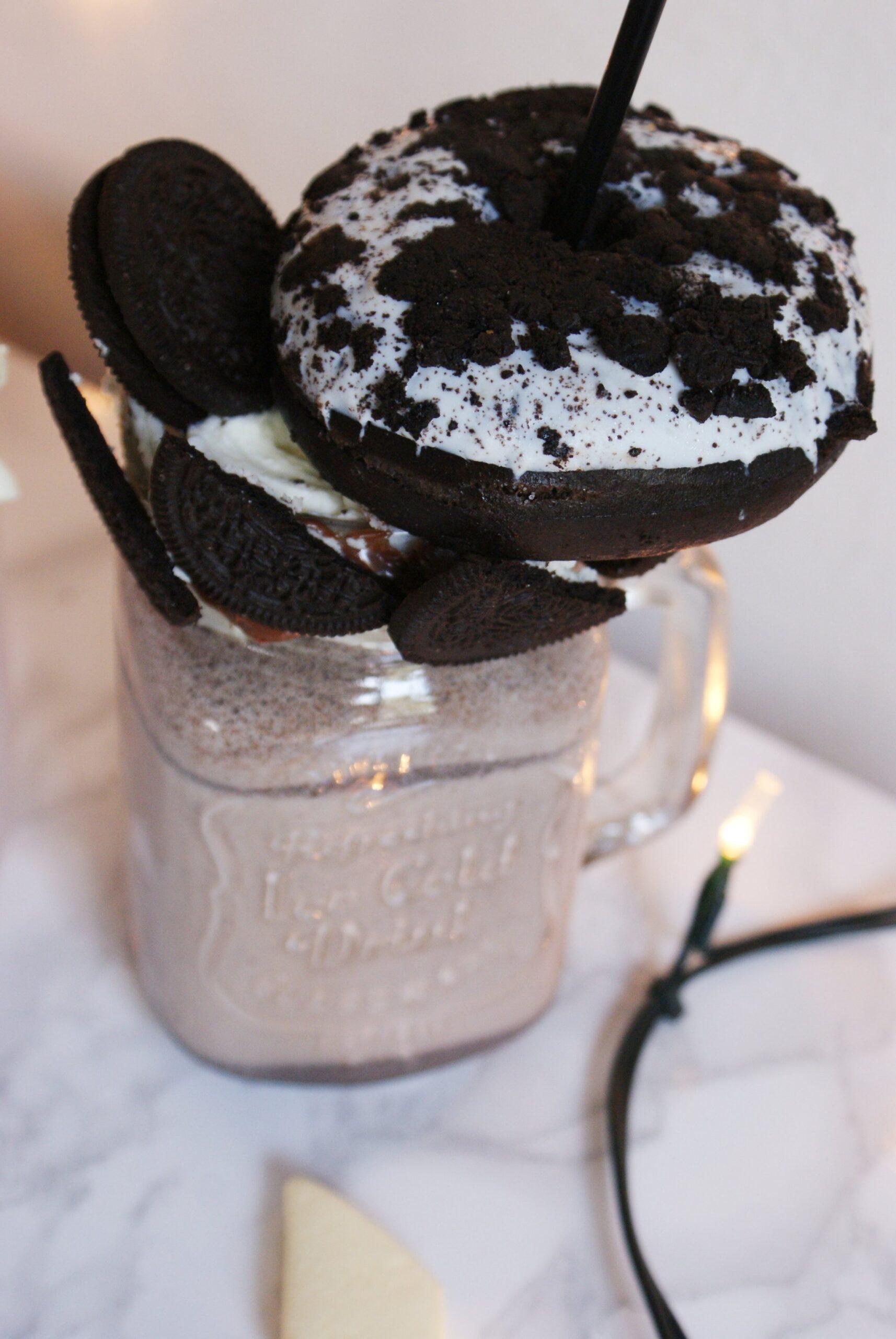 oreo doughnut cookies shake recipe