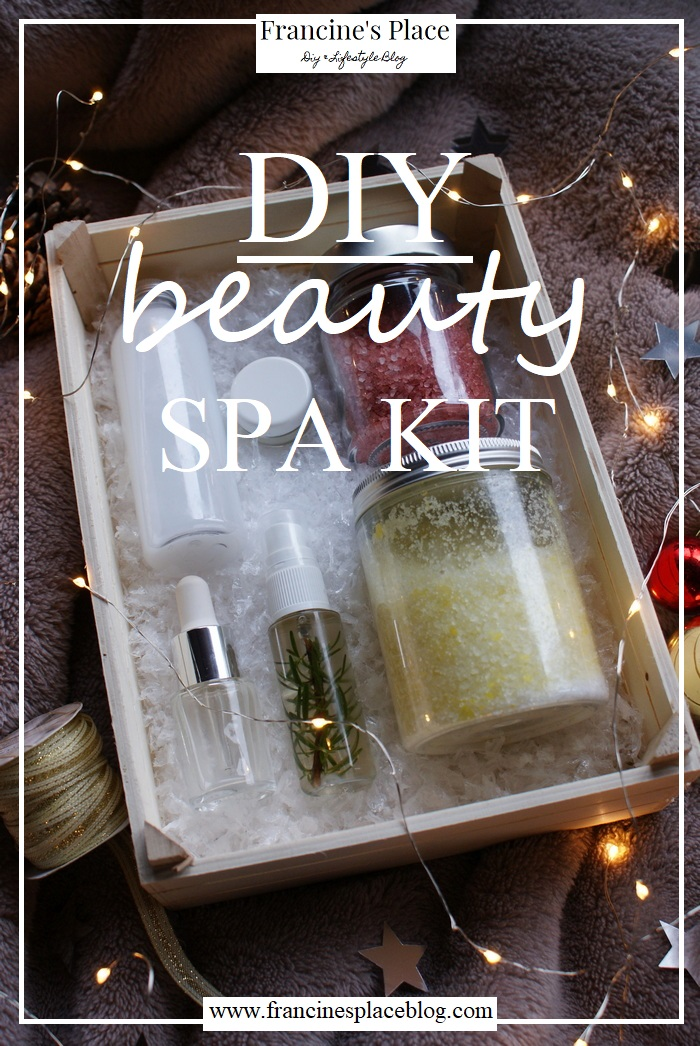 diy beauty spa kit francinesplaceblog